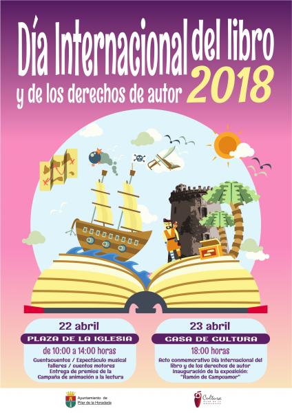 Día Internacional del Libro y de los Derechos de Autor en Pilar de la Horadada 2018