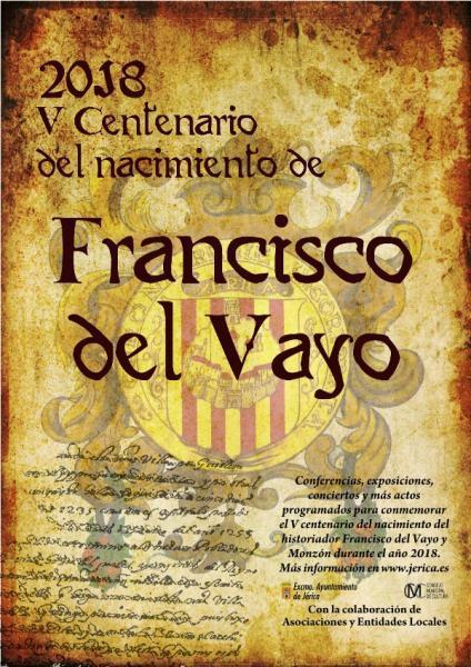 V Centenario del nacimiento de Francisco del Vayo Jérica