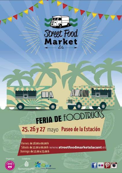 Feria de Foodtrucks en Elche