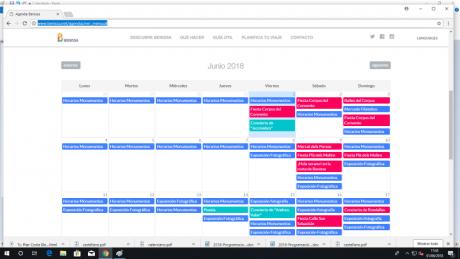 Agenda cultural junio