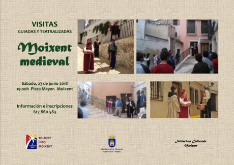 Visita guiada y tetralizada Moixent medieval