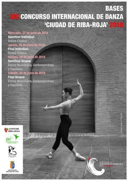"XXI Concurso Internacional de Danza ""Ciutat de Riba-roja de Túria"""