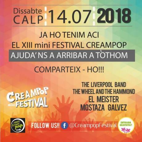XIII Mini Festival CREAMPOP CALP