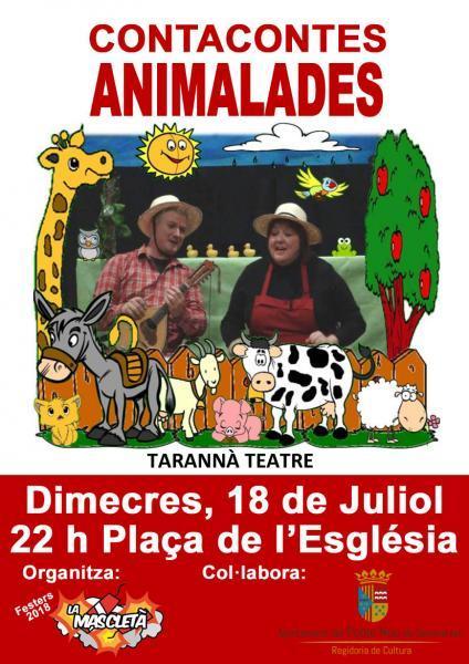 """Cuentacuentos """"Animalades"""""""