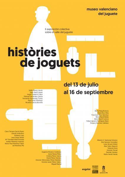 """2ª Mostra Col·lectiva """"Històries de Joguets"""""""