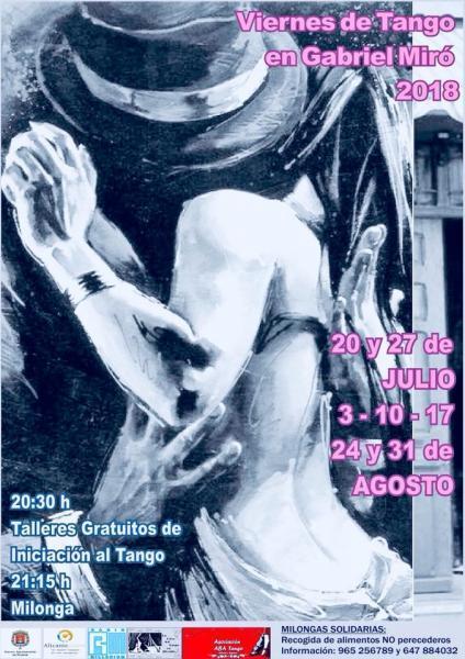 Viernes de Tango en Gabriel Miró