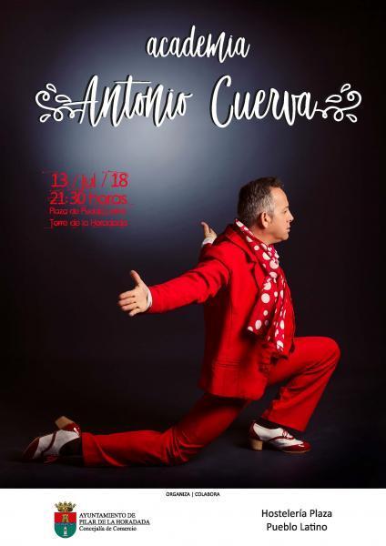 Actuación de la Academia de Baile Flamenco 'Antonio Cuerva' en Pilar de la Horadada