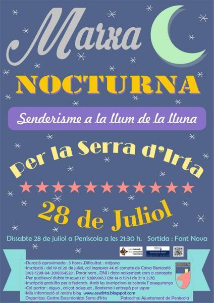 Marcha Nocturna por la Sierra de Irta - Peñiscola