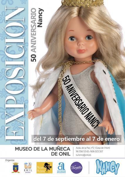 Exposición 50 aniversario Nancy de Famosa