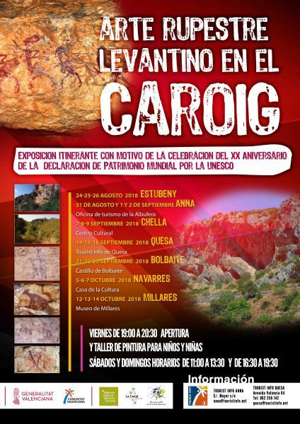 Exposición Itinerante Arte Rupestre Levantino en el Caroig