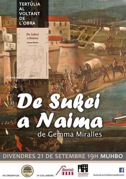 """Tertúlia al voltant de l'obra """"De Sukei a Naima""""."""