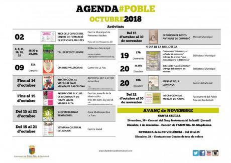 Agenda Otubre 2018