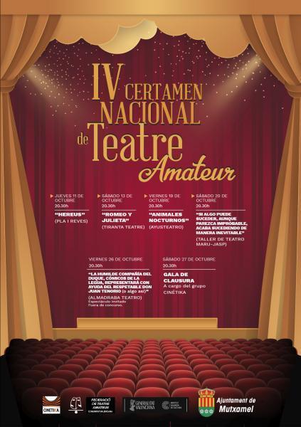 IV Certamen Nacional de Teatro Amateur