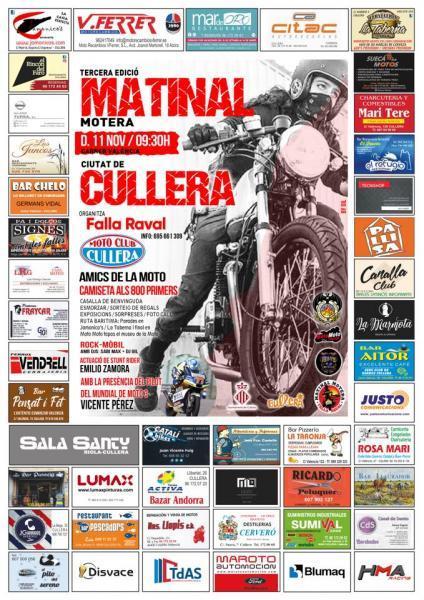 TERCERA EDICIÓN MATINAL MOTERA CULLERA