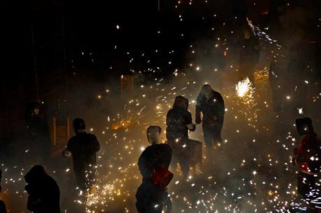 La Cordà de Paterna, el mayor espectáculo pirotécnico del mundo