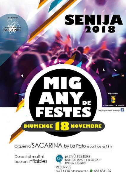 Half year of fiestas in Senija
