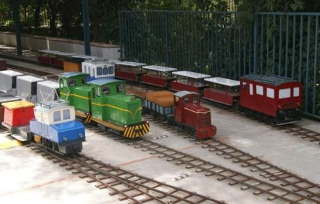 Exhibición de trenes a escala de Centro Ferroviario Vaporista de Riba-roja de Túria