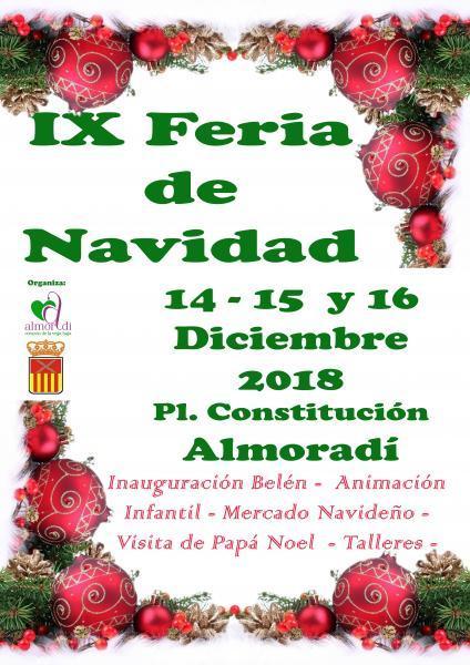 IX Feria de Navidad en Almoradí