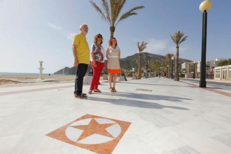 Paseo de las Estrellas in Playa del Albir