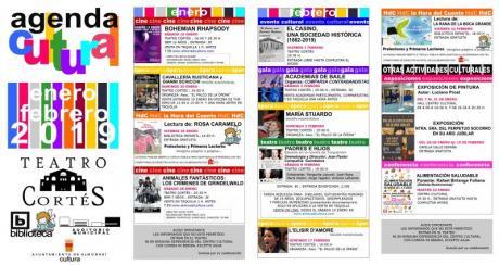Agenda Cultural Enero - Febrero