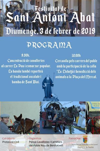 Festividad de San Antonio Abad 2019