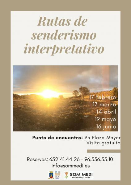Rutas de Senderismo Interpretativo (gratuitas)