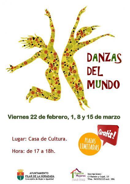 Taller Danzas del Mundo en Pilar de la Horadada