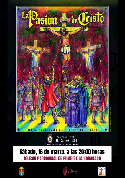 """Representación de """"La Pasión de Cristo"""" en Pilar de la Horadada 2019"""