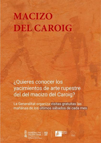 Visitas guiadas gratuitas a los yacimientos de Arte Rupestre del Macizo del Caroig