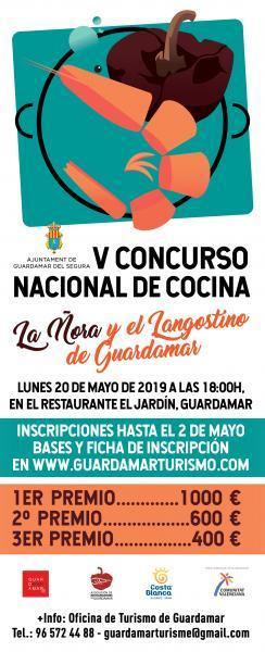 5º Concurso Nacional de Cocina de la Ñora y el Langostino de Guardamar