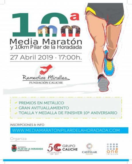 10ª Media Maratón y 10K Pilar de la Horadada 'Remedios Miralles' Fundación Caliche