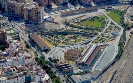 València estrena zona verde: Visitando el nuevo Parque Central