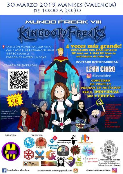 Mundofreak VII: Kingdom freaks - Manises 2019