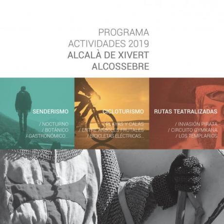 Programa de Actividades Alcalà de Xivert - Alcossebre 2019