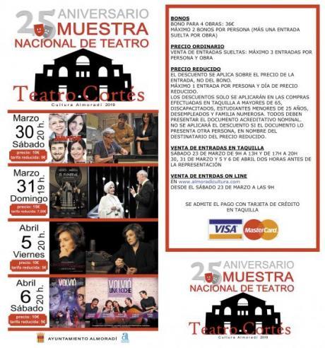 MUESTRA NACIONAL DE TEATRO - 25 ANIVERSARIO