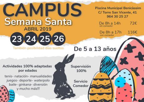 Campus infantil Semana Santa - Piscina de Benicàssim