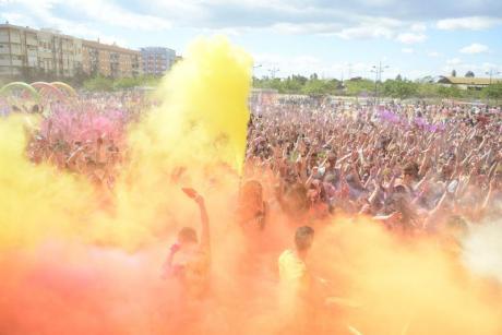 Le festival international Holi Life remplira València de couleurs!