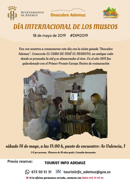 Descubre Ademuz en el Día Internacional de los Museos