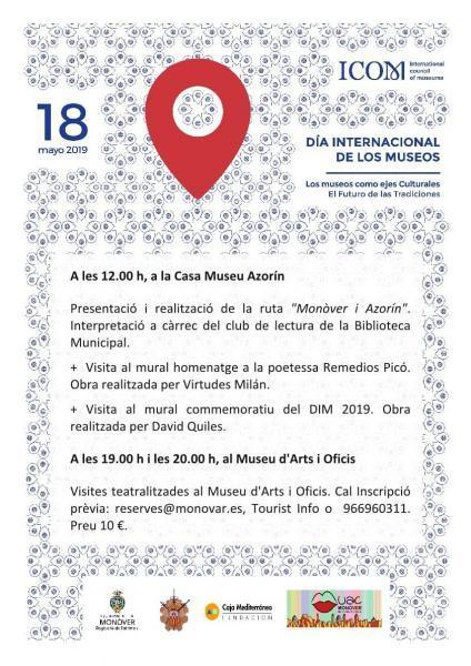 Día Internacional de los Museos en Monóvar