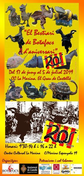 20 ANIVERSARIO DEL ''BESTIARI DE BOTAFOCS''