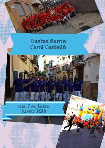 FESTES BARRI CAMÍ CASTELLÓ 2019