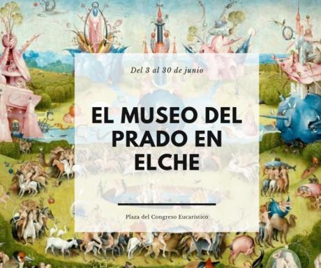 """Exposición: """"El Museo del Prado en las calles""""."""