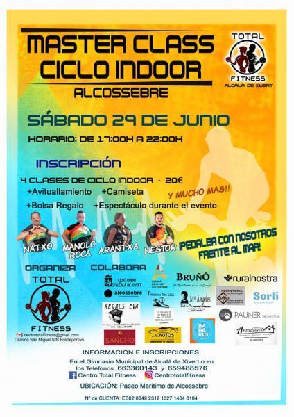 Master Class Ciclo Indoor Alcossebre