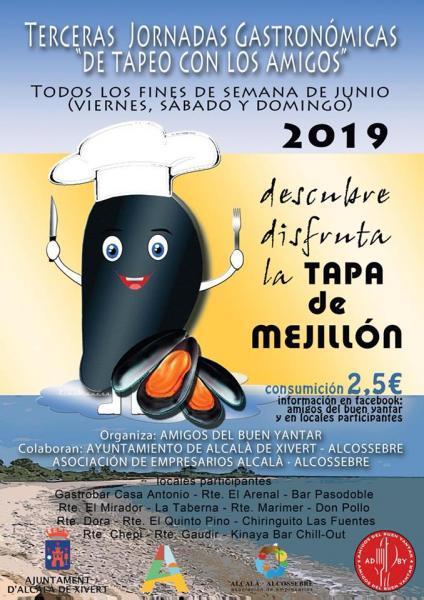 """Terceras Jornadas Gastronómicas """"De Tapeo Con Los Amigos"""" - Tapa del Mejillón"""