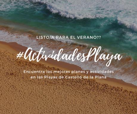 ACTIVIDADES, CALENDARIO DE VERANO 2019
