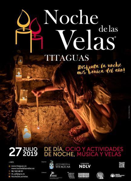 NOCHE DE LAS VELAS Titaguas 2019