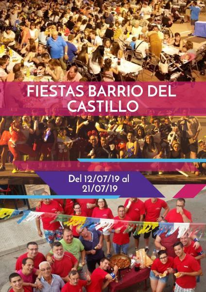 Fiestas del Barrio del Castillo, Onda 2019