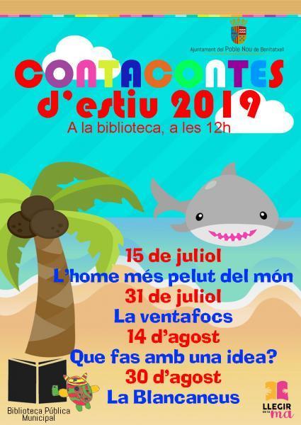 Cuentacuentos de verano 2019