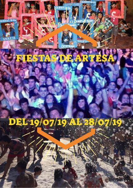 Fiestas Artesa 2019