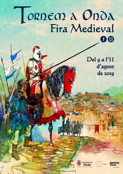 """Volvemos a Onda"" Feria Medieval en Onda 2019"